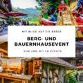 Ihr Outdoor Event am Schliersee - ein Berg- und Bauernhaus Event mit SH Events jetzt planen!