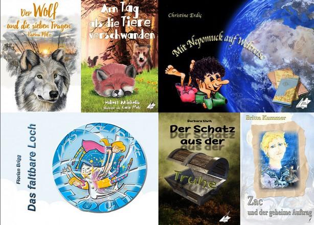Buchtipps aus dem Karina-Verlag, die Lesespaß bringen
