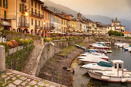Höchstspannung am Lago Maggiore