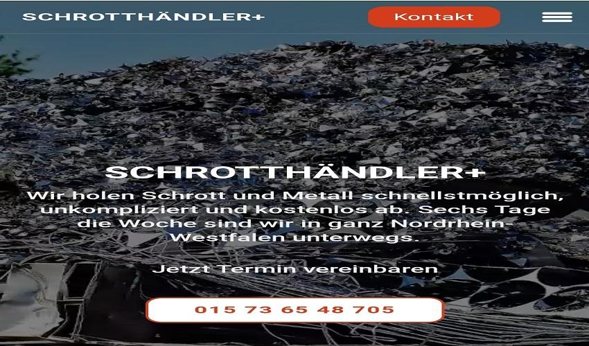 Schrotthändler in Neuss & Durch die Metall Abholung und Metallankauf