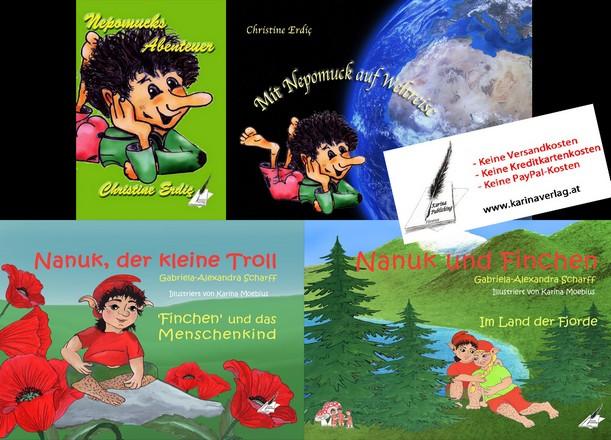 Kobold- und Trollabenteuer aus dem Karina-Verlag