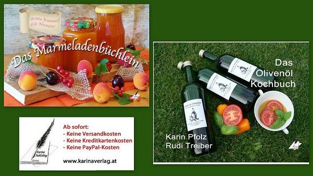 Bestellen Sie diese Kochbücher direkt beim Karina-Verlag