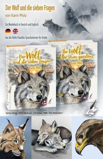 Spannende Geschichte mit der Wölfin Karu und ihren Welpen