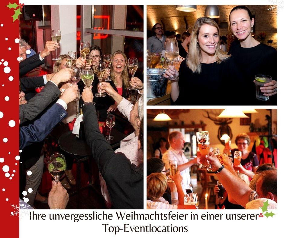 Hütte, Schloss oder Weinkeller: Ihre unvergessliche Weihnachtsfeier in einer unserer Top-Eventlocations
