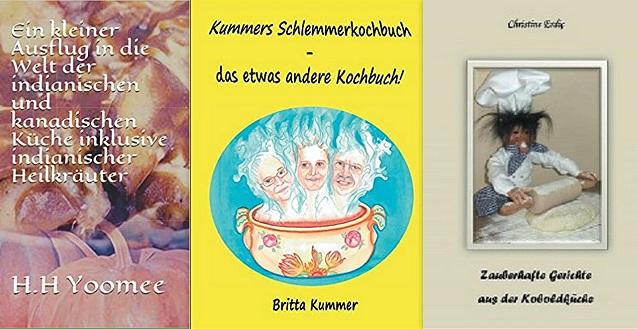 Außergewöhnliche Kochbücher