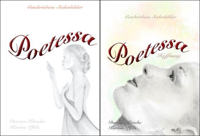 Geschriebene Seelenbilder von Doreen Kirsche und Karina Pfolz