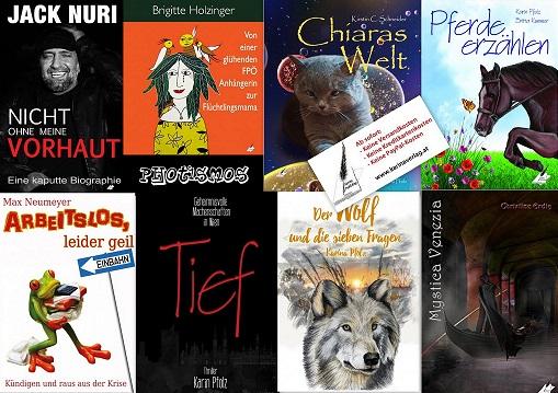 Bücher aus dem Karina-Verlag sind immer ein Erlebnis