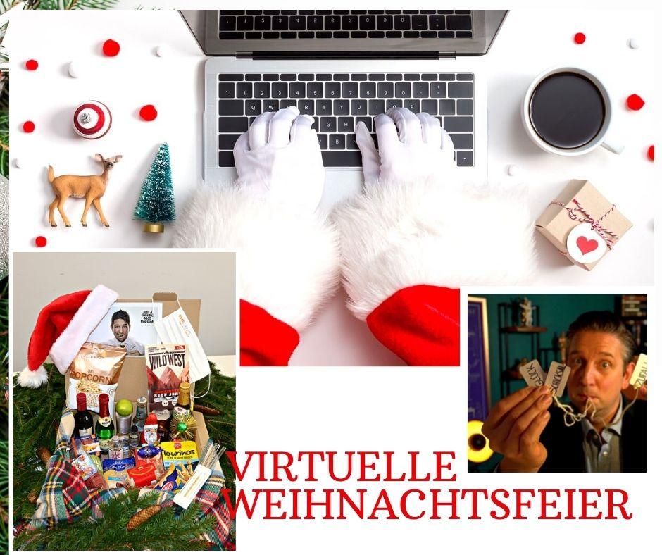 Virtuelle Weihnachtsfeier mit SH Events – Besondere Momente daheim oder im Büro erleben
